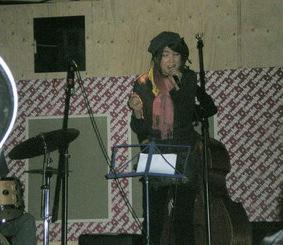 歌いました♪